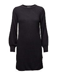 onlSIFF L/S DRESS CC KNT - NIGHT SKY