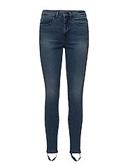 onlROYAL HW MED BLUE STROP DNM JEANS PIM - MEDIUM BLUE DENIM