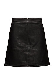 onlLISA FAUX LEATHER SHORT SKIRT OTW