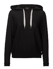 onlMIE L/S HOOD PULLOVER KNT - BLACK