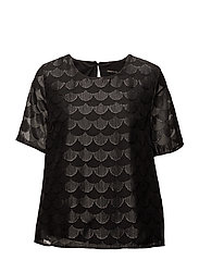 onlANTONIA 2/4 TOP WVN - BLACK