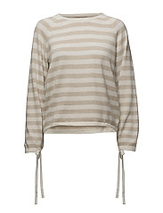 onlYUCCA L/S PULLOVER KNT - CLOUD DANCER