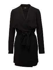 onlRUNA SPRING COAT TLR - BLACK