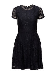 onlMYSTERY LACE S/S DRESS WVN - NIGHT SKY