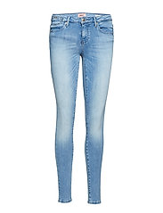 onlCARMEN REG SK COIN JEANS CRE967 NOOS - MEDIUM BLUE DENIM