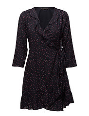 onlEMMA 3/4 WRAP DRESS WVN