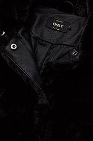 ONLY - onlVIDA FAUX FUR JACKET OTW - faux fur - black - 3