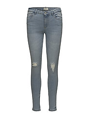 onlBOOM REG SKINNY JEANS NO09 - LIGHT BLUE DENIM