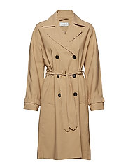 onlEMILIA LONG TRENCHCOAT CC OTW