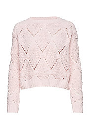 onlYASMIN L/S STRUCTURE PULLOVER CC KNT - BLUSHING BRIDE