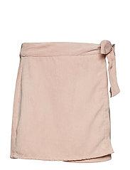 Onlelvira Wrap Corduroy Skirt Pnt