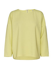onlLECO MAISE L/S ZIP TOP JRS - ELFIN YELLOW
