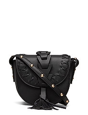 ONLTASSEL PU CROSSBODY ACC - BLACK