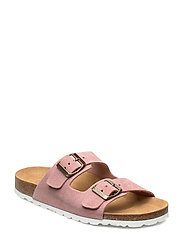 ONLRAVI SUEDE SLIP ON - LIGHT PINK