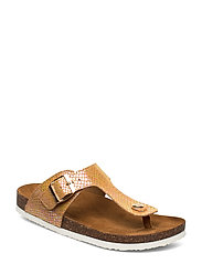 ONLMATHILDA SNAKE TOE SPLIT SANDAL - LIGHT PINK