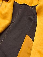 ONLY - ONLSHERRY CROP  BONDED BIKER CC OTW - lichte jassen - golden yellow - 5