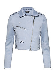 ONLSHERRY CROP  BONDED BIKER CC OTW - KENTUCKY BLUE