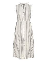 ONLDORRIE S/L ABOVE CALF DRESS WVN - CLOUD DANCER