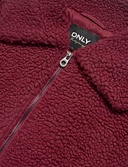 ONLY - ONLEMMA SHERPA JACKET CC OTW - faux fur - pomegranate - 2