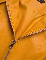 ONLY - ONLMELISA FAUX LEATHER JACKET CC OTW - nahkatakit - golden yellow - 2