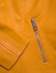 ONLY - ONLMELISA FAUX LEATHER JACKET CC OTW - nahkatakit - golden yellow - 3