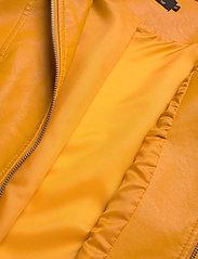 ONLY - ONLMELISA FAUX LEATHER JACKET CC OTW - nahkatakit - golden yellow - 4