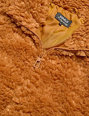 ONLY - ONLELLIE SHERPA BOMBER JACKET CC OTW - faux fur - cathay spice - 3
