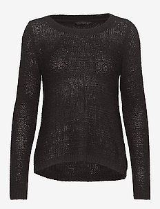 onlGEENA XO L/S PULLOVER KNT NOOS - BLACK