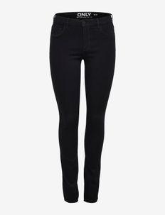 ONLRAIN REG SKINNY JEANS CRY6060 NOOS - skinny jeans - black denim