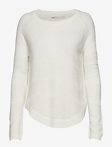 ONLCAVIAR L/S PULLOVER KNT NOOS - trøjer - whitecap gray