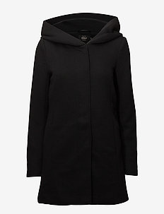 ONLSEDONA LIGHT COAT OTW NOOS - lette frakker - black