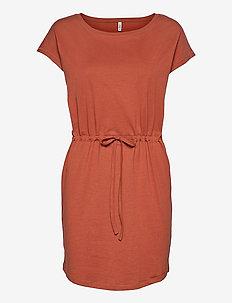 onlMAY S/S DRESS - everyday dresses - arabian spice