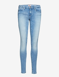 onlCARMEN REG SK COIN JEANS CRE967 NOOS - dżinsy skinny fit - medium blue denim