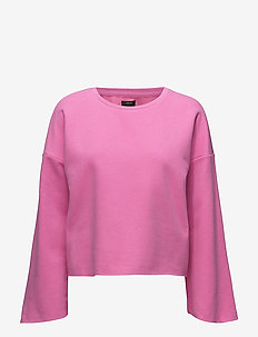 onlATALIJE WIDE LS SWEAT JRS - sweaters - super pink