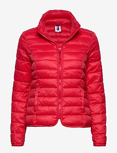 onlTAHOE JACKET OTW - CHINESE RED