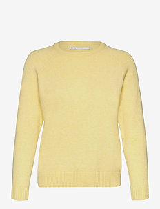 onlLESLY KINGS L/S PULLOVER KNT NOOS - gensere - elfin yellow