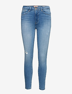 ONLPAOLA LIFE HW SK JNS BB AZG809 NOOS - jeans skinny - light blue denim