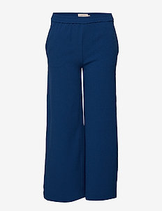 konRUNA MW WIDE-LEG PANTS TLR - PRINCESS BLUE