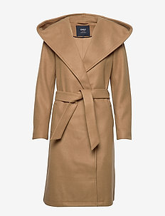 ONLRILEY WOOL COAT CC OTW - CAMEL