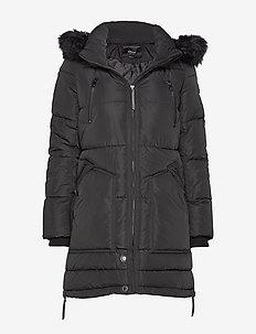 ONLRHODA WINTER COAT OTW - BLACK
