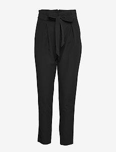 ONLFRESH PAPERBACK PANT PNT - BLACK