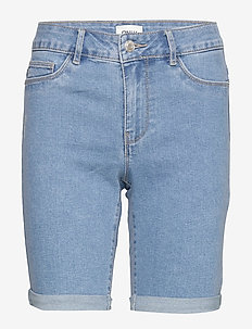 ONLSUN ANNE K MID LONG SHORTS BJ15268-1 - jeansshorts - light blue denim