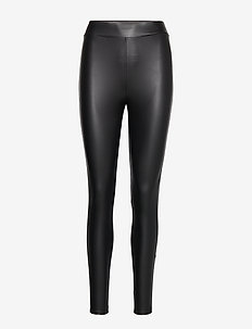 ONLCOOL COATED LEGGING NOOS - BLACK