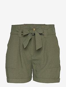 ONLMYA-EMERY HW PB SHORTS PNT - casual shorts - grape leaf