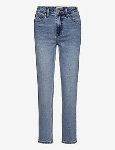 ONLEMILY LIFE HW ST ANKLE MAE0012 - straight jeans - medium blue denim