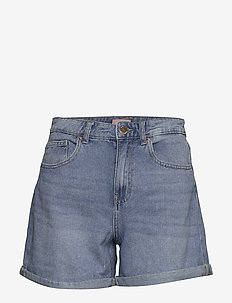 ONLPHINE LIFE SHORTS BB MAS0001 NOOS - korte jeansbroeken - light blue denim