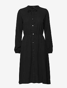 ONLNOVA LUX MIRANDA DRESS SOLID WVN - BLACK