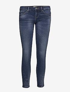 ONLCORAL SL SK ANKLE JEANS ANAJN11MED - skinny jeans - medium blue denim