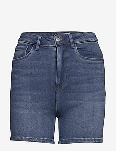 ONLMILA HW SHORTS BB BJ184-2 - korte spijkerbroeken - medium blue denim