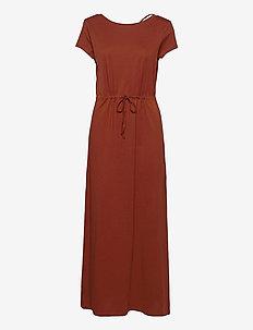 ONLMAY LIFE S/S STRING MAXI DRESS JRS - summer dresses - arabian spice